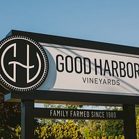 Good Harbor Sign - Family Farmed Since 1980.  Come and visit the Good Harbor family!