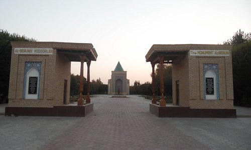 entrance to complex - view from parking lot