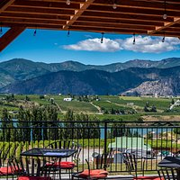 Spectacular scenery and peaceful views of lakes, mountains, orchards and vineyards.