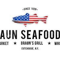 Braun Seafood Co.  Fish Market - Braun's Grill - Wholesale