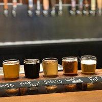 The new beer flights!!