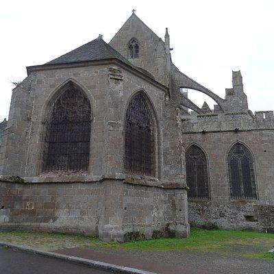 Le chevet de la Cathédrale Saint-Samson