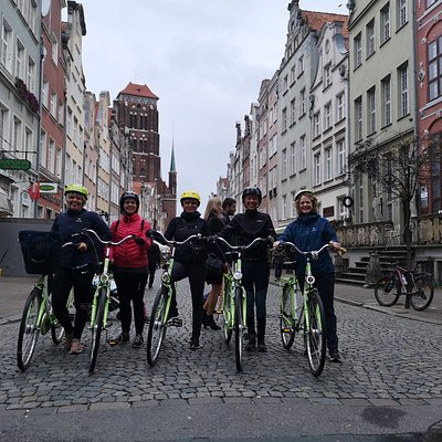 Bike Tour Gdansk Everyday  at 10 AM Small group private Tour Local Guide