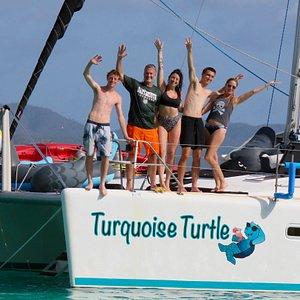 Fun on the Turquoise Turtle!