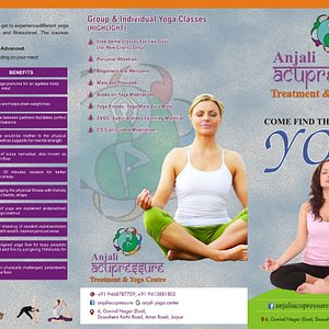 YOGA     Welcome to Anjali Yoga in Jaipur we provide best yoga classes in Jaipur.  The science and art of healthy living - physically, mentally, morally and spiritually. It aims at the development of a perfect balance between the body and the mind, which eventually permits the individual seeker's union with the Divine. It does not matter what you call that Divine - God, Allah, Ishwara or by some other name. Anything that brings you into a closer understanding with that higher Power - is Yog
