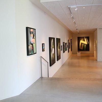 Indgangen til Arne Haugen Sørensen Museum
