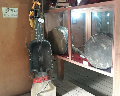 The biggest national string instrument in Nepal!