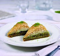 Pistachio Carrot Slice... At your service!