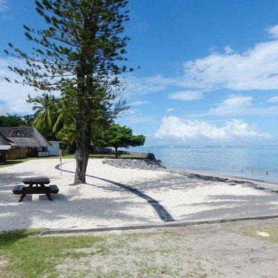 Maginifique vue sur la plage