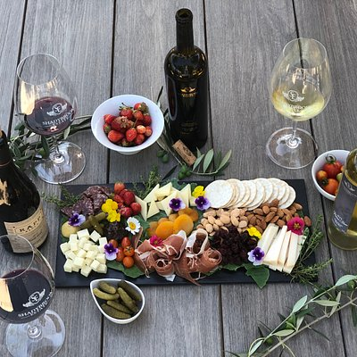 Experience our Perfect pairing - wine, cheese, and charcuterie that will make your mouth water.