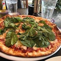 Blue Cheese & Salmon Pizza
