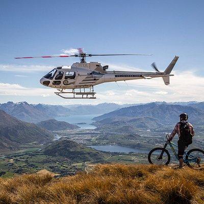 HeliBike NZ's stunning Crown Peak ride.