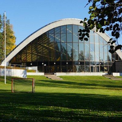 Urheilupuisto Swimming Hall, Kouvola