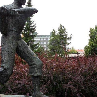 Finnish Baseball Player, 1968