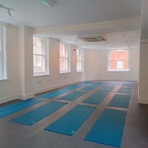 Our beautiful, light and airy fully air-conditioned studio.