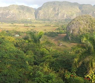 Viñales Tal. Weltkulturerbe Landschaft seit 1999