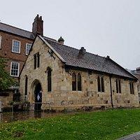 St Crux Church on Whip-Ma-Whop-Ma-Gate.
