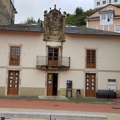 Vista frontal del Palacio