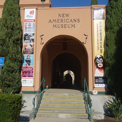 Visions and New Americans Museum are neighbors in the same building