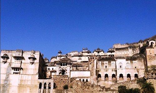 Bundi Palace View.