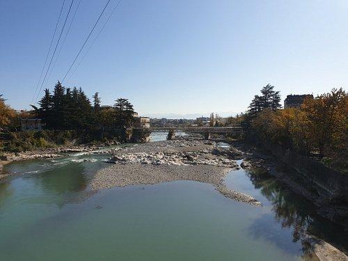 Rioni River, November 2019