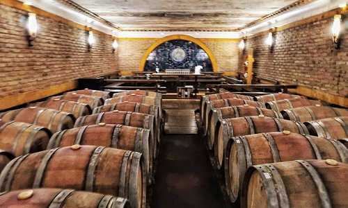 Beautiful cellar