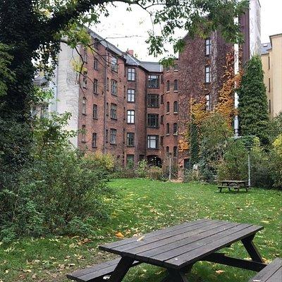Nørrebro's courtyard
