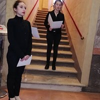 Atrio d'onore e scalone,Brani di Claudio Magris, Marguerite Yourcenar, Malala Yousafzai.