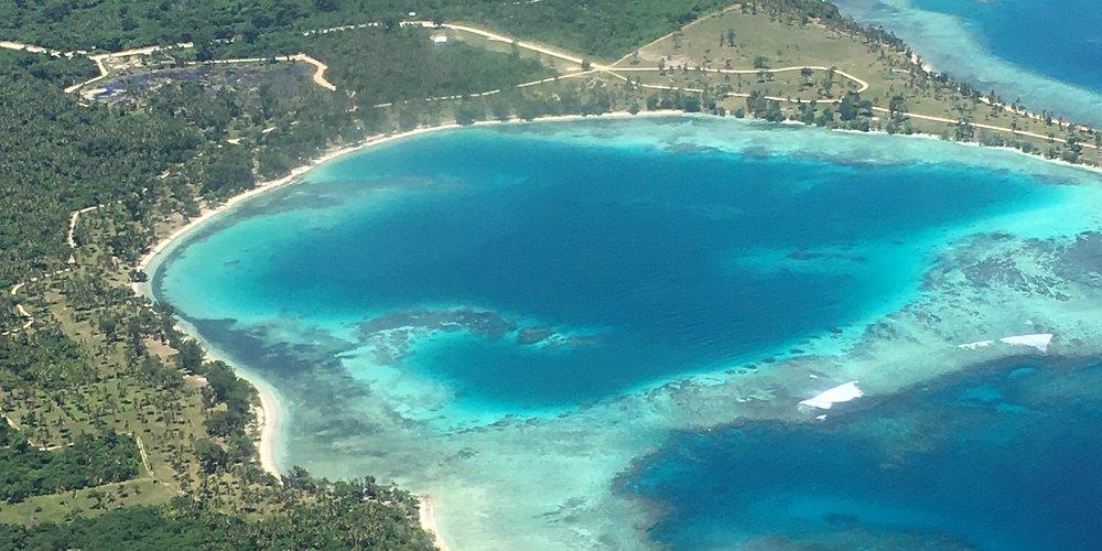 Efate depuis les airs Vanuatu