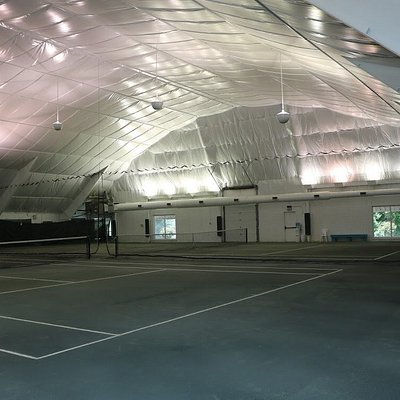Indoor Clay Courts!