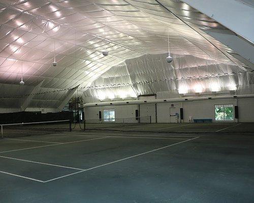 Indoor Clay Courts!