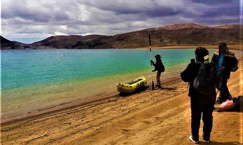 es un lugar único en las montañas   ( playa andina ) esta entre huancavelica y ayacucho