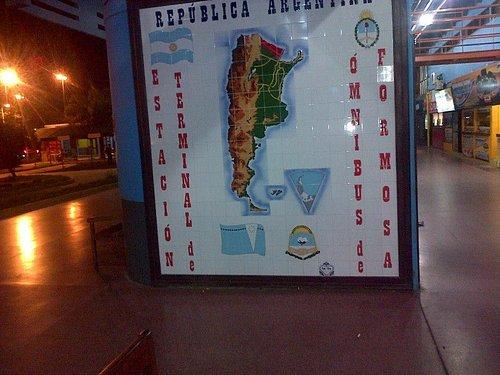 Terminal de micros de Formosa