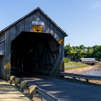 Hardscrabble covered bridge