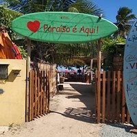 Praia do Riacho - melhor praia de Milagres.. restaurante Òtimo e Melhorando ainda mais..