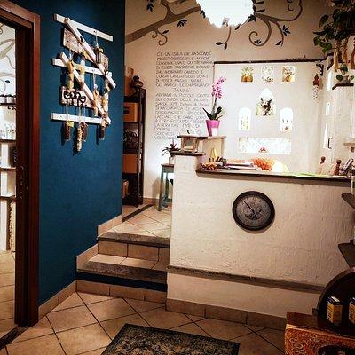 un angolo della nostra Erboristeria Domus de Janas (dal sardo casa delle fate)