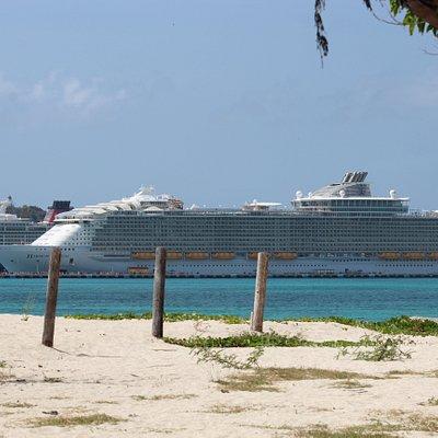 Docked in St. Maarten