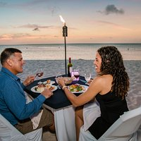 Passions on the Beach dinner