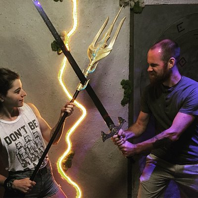 Couples love Top Tier Escape Rooms for date night!