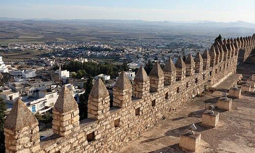 Kasbah Of Le Kef - pohled z pevnosti na město Le Kef