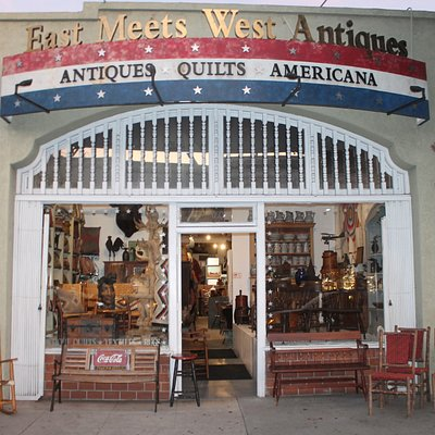 Amazing one of a kind furniture, textiles, quilts, Americana, pillows and seasonal items.  There is ALWAYS merchandise. . .what a relief from buying on line where you can't see and touch things