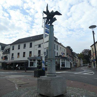 Statyn ''Valken'' i Valkenburg