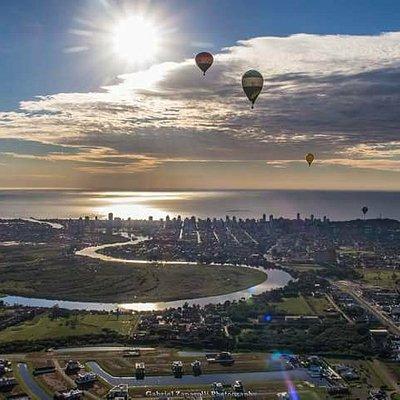 O lugar mais lindo no mundo para se voar!