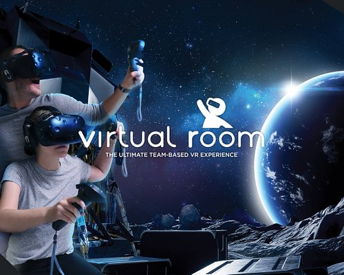 Virtual Room: Virtual Reality Melbourne - blending the escape room concept with a full 3D cinematic experience to deliver a unique, immersive and mind-blowing adventure lasting ~40-50 minutes.   Played in groups of 2, 3 or 4 players where each player has their own dedicated room - you will join each other in the virtual world where you can talk to each other, walk around, bend, throw objects and collaborate to solve the mission.