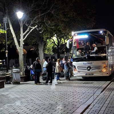 Havaist bus stop at Sultanahmet