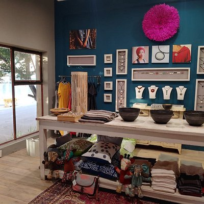 A view of one of the rooms in our shop where you will find not only our jewellery and clothing range but also an eclectic mix of jewellery from literary all over the world, starting with Africa of course! Everything in our shop is handmade out of natural materials or recycled!