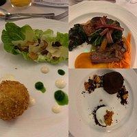 Amazingly presented, delicious food !