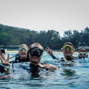 Diving with Seafari