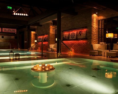 Mandala Spiritual Bath the best way to spend your time in Budapest, 5 different pools: Floating - cold - healing - spring hot - jacuzzi - steamroom room. soft bar, chill out music and sitting area, Now Just  20/23 Eur
