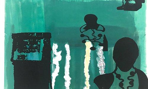 AVNER Ben Gal.  From exhibition 'Julius'. 7-30/11/2019